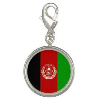 Patriotische afghanische Flagge Charm
