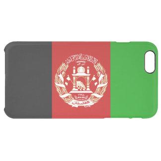 Patriotische afghanische Flagge Durchsichtige iPhone 6 Plus Hülle