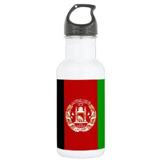 Patriotische afghanische Flagge Edelstahlflasche