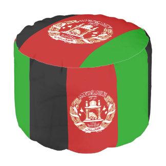 Patriotische afghanische Flagge Hocker