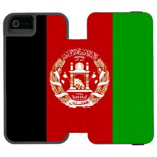 Patriotische afghanische Flagge Incipio Watson™ iPhone 5 Geldbörsen Hülle