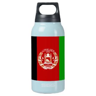Patriotische afghanische Flagge Isolierte Flasche