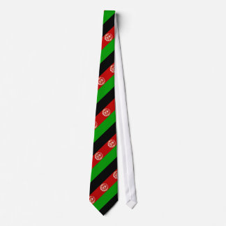 Patriotische afghanische Flagge Krawatte
