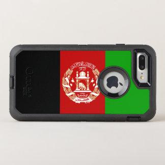 Patriotische afghanische Flagge OtterBox Defender iPhone 8 Plus/7 Plus Hülle