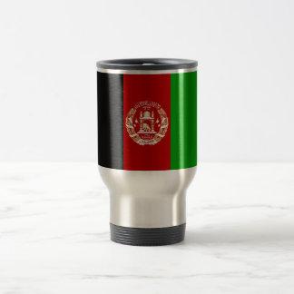 Patriotische afghanische Flagge Reisebecher