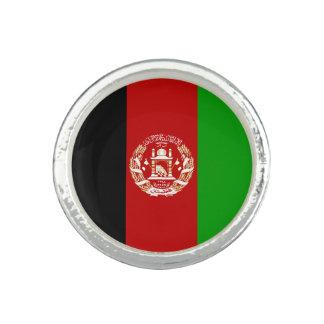 Patriotische afghanische Flagge Ring