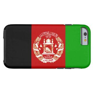 Patriotische afghanische Flagge Tough iPhone 6 Hülle