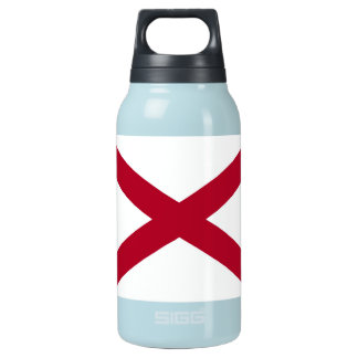 Patriotische Alabama-Staats-Flagge Isolierte Flasche
