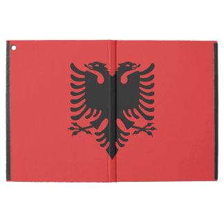 Patriotische albanische Flagge