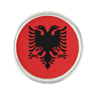 Patriotische albanische Flagge Anstecknadel