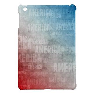 Patriotische Amerika-Text-Grafik iPad Mini Hülle