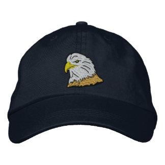 Patriotische Amerikaner-Eagle-Kappe Bestickte Baseballkappe