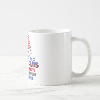 Patriotische Amerikaner-große Regierung Kaffeetasse