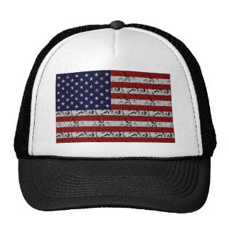 Patriotische Amerikaner USA-Flagge von Vereinigten Truckermütze