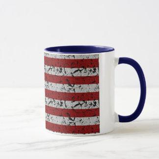 Patriotische Amerikaner USA-Flagge von Vereinigten Tasse