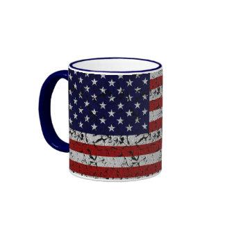 Patriotische Amerikaner USA-Flagge von Vereinigten Kaffeetasse