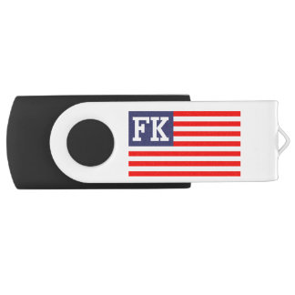 Patriotische amerikanische Flagge des USB Stick