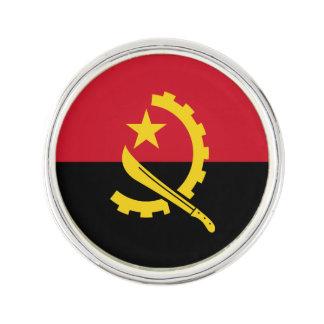 Patriotische angolanische Flagge Anstecknadel