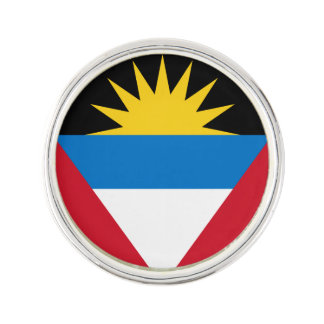 Patriotische Antigua und Barbuda-Flagge Anstecknadel