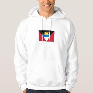 Patriotische Antigua und Barbuda-Flagge Hoodie