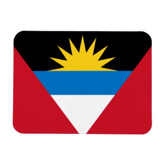Patriotische Antigua und Barbuda-Flagge Magnet