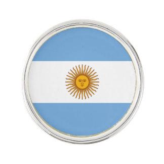 Patriotische argentinische Flagge Anstecknadel