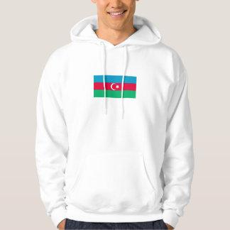Patriotische Aserbaidschan-Flagge Hoodie