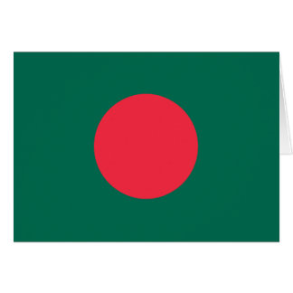 Patriotische bangladeschische Flagge Karte