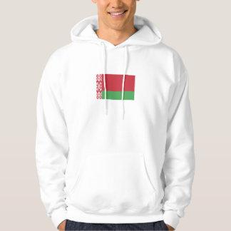 Patriotische belarussische Flagge Hoodie