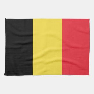 Patriotische belgische Flagge Geschirrtuch