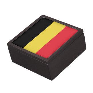 Patriotische belgische Flagge Kiste