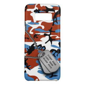 Patriotische Camouflage mit Hundeplaketten Case-Mate Samsung Galaxy S8 Hülle