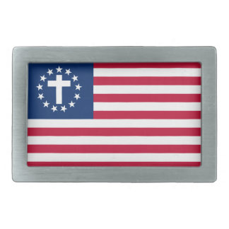 Patriotische christliche Gürtelschnalle SCC