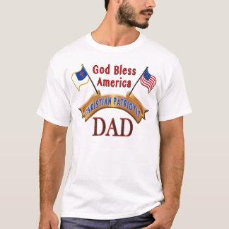 Patriotische christliche T-Shirts für Männer, VATI