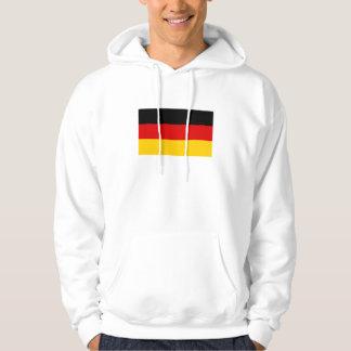 Patriotische deutsche Flagge Hoodie