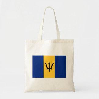 Patriotische Flagge von Barbados Tragetasche