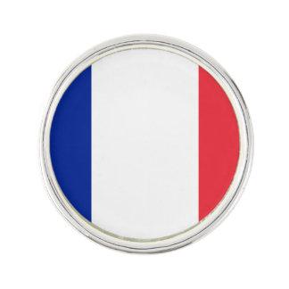Patriotische französische Flagge Anstecknadel