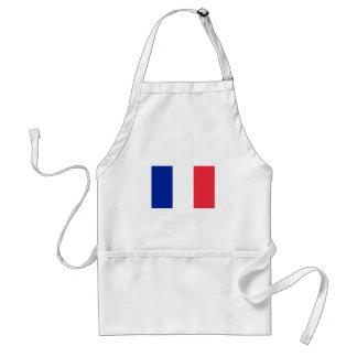 Patriotische französische Flagge Schürze