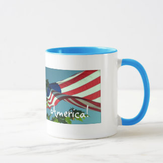 Patriotische Good Morning Amerika GetränkeTasse Tasse