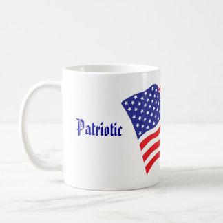 Patriotische Hochzeit Kaffeetasse