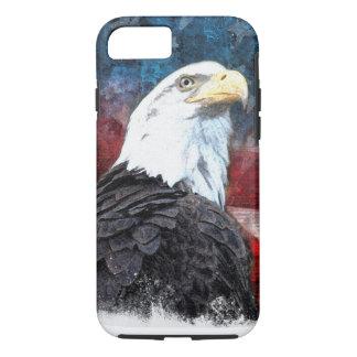 Patriotische iPhone 7 Muschel mit kahlem Adler und iPhone 8/7 Hülle