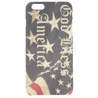 Patriotische iPhone Abdeckung Durchsichtige iPhone 6 Plus Hülle