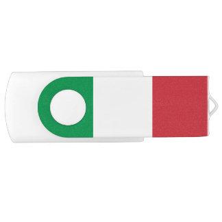 Patriotische italienische Flagge USB Stick