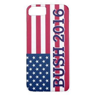 Patriotische Jeb Bushamerikanische Flagge 2016 iPhone 7 Hülle