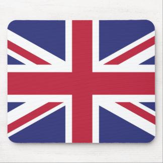 Patriotische Königreich-Flagge Mousepad