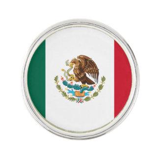 Patriotische mexikanische Flagge Anstecknadel