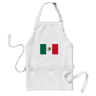 Patriotische mexikanische Flagge Schürze