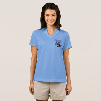 PATRIOTISCHE PANDAS POLO SHIRT