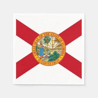 Patriotische Papierservietten mit Flagge von