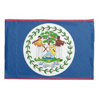 Patriotische Single-Kissenbezugflagge von Belize Kissen Bezug
